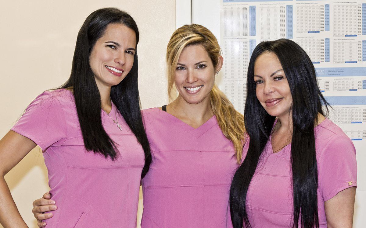 Surgical Staff of Dr. Lenny Roudner - Board Certified Miami Plastic Surgeon